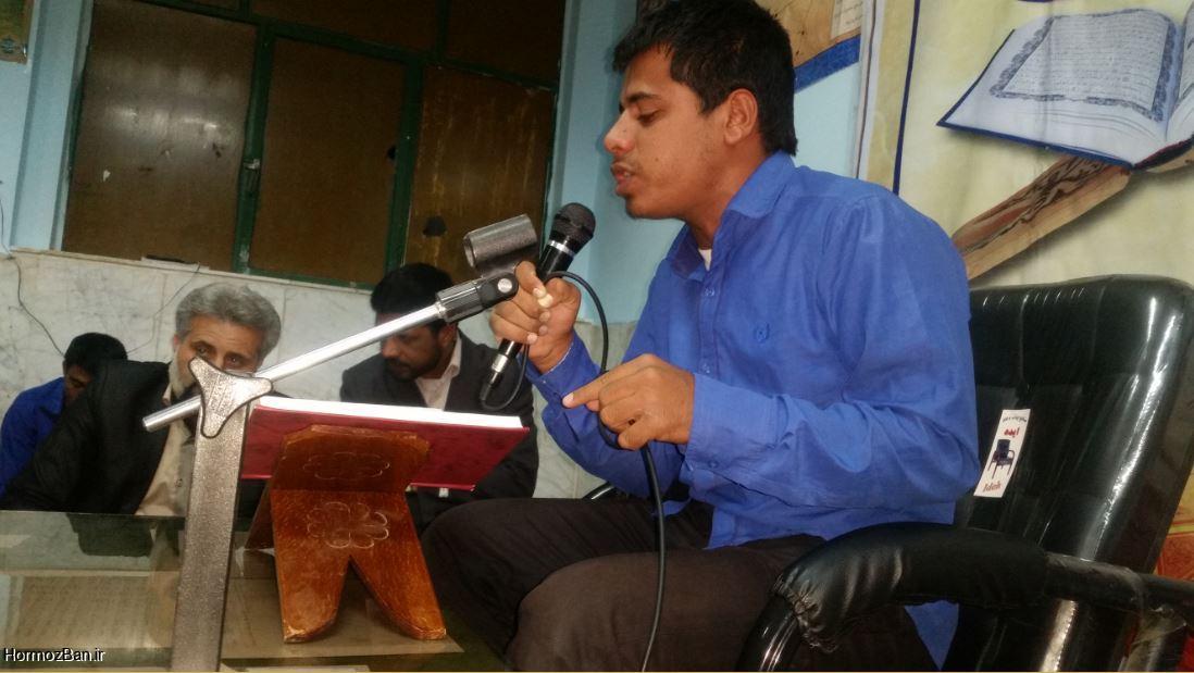 محفل انس با قرآن کریم در دبیرستان شبانه روزی ابوریحان هشت بندی برگزار شد