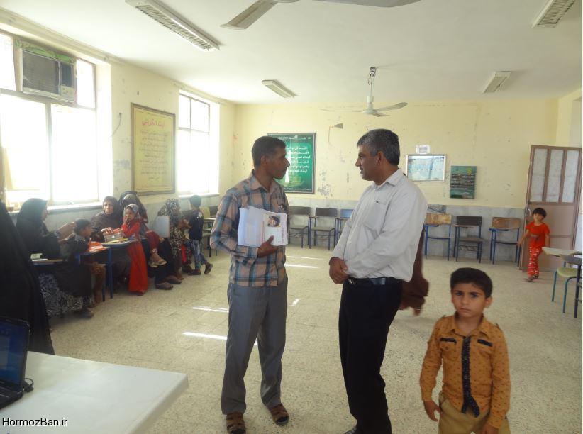 آغاز فعالیت پایگاه سنجش دانش آموزان پایه اول ابتدایی در شهر هشتبندی