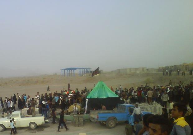 استقبال باشکوه مردم هشت بندی و توکهور از دو شهید غواص گمنام