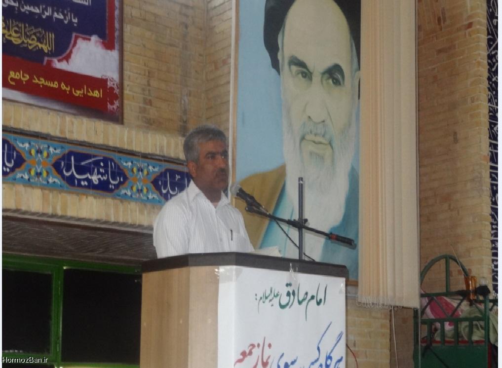 گزارش محمد احمدی پور قبل از خطبه های نماز جمعه بخش توکهور و هشتبندی