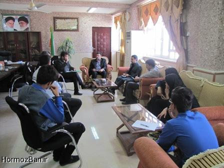 گزارش تصویری/ سفر مدیر سازمان دانش اموزی استان به بستک