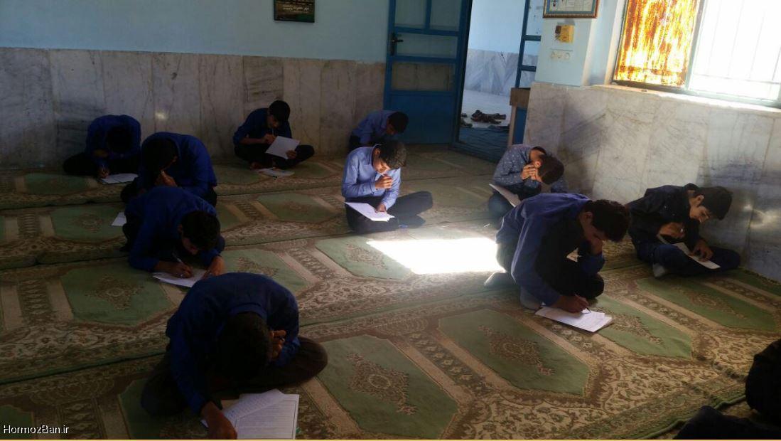 هفته کتاب و کتابخوانی / برگزاری مسابقه کتابخوانی در دبیرستان شبانه روزی ابوریحان هشت بندی